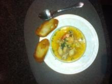 leckere schnelle Fischsuppe Bouillabaisse - Rezept