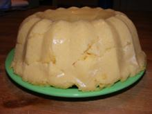 Maispolenta-Pudding mit Apfelmark - Rezept