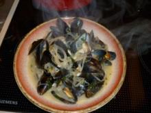Muscheln auf Seemannsart - Rezept