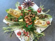 Salat/ Frühlingseinzug im Hexenhaus - Rezept