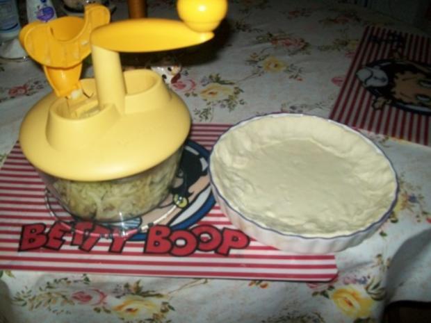 Schneller Blätterteig- Apfelkuchen mit Vanillepudding - Rezept - Bild Nr. 4