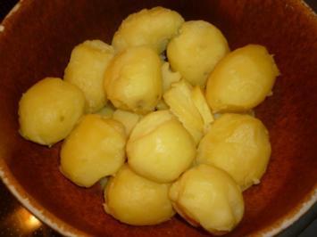 Kartoffelsalat   oder   Kartoffel- / Gurkensalat - Rezept