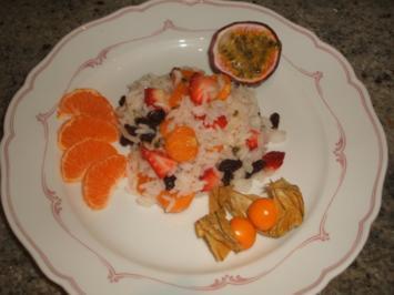 Dessert: Süßer Reissalat - Rezept