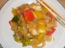 Asia - Fischpfanne - Rezept