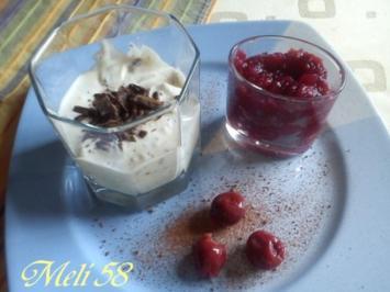 Desserts: Mascarponecreme mit Kirschen - Rezept