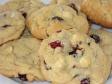 Macadamia-Cranberry-Cookies - Rezept