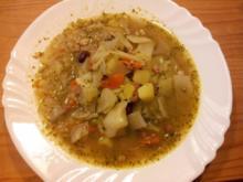 Franzel`s Gemüsesuppe - Rezept