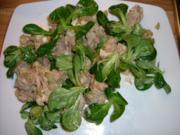 Mäuseohren im Rindfleisch Salat! - Rezept