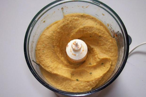 Hummus (Kichererbsenpaste) - Rezept - Bild Nr. 2