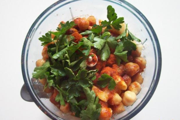 Hummus (Kichererbsenpaste) - Rezept - Bild Nr. 3