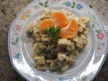 Rezept: Salate: Fruchtiger Geflügelsalat