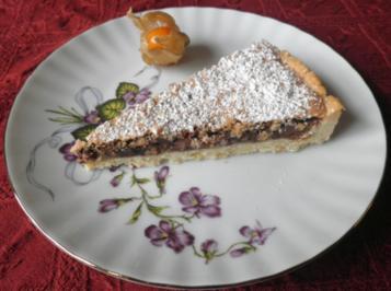 Schokoladenkuchen mit Mandeln - Rezept