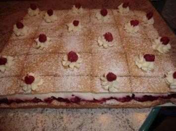 &#9829 Keks - Himbeer - Schnittchen &#9829 - Rezept
