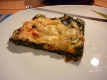 Spinat- Käse- Auflauf - Rezept