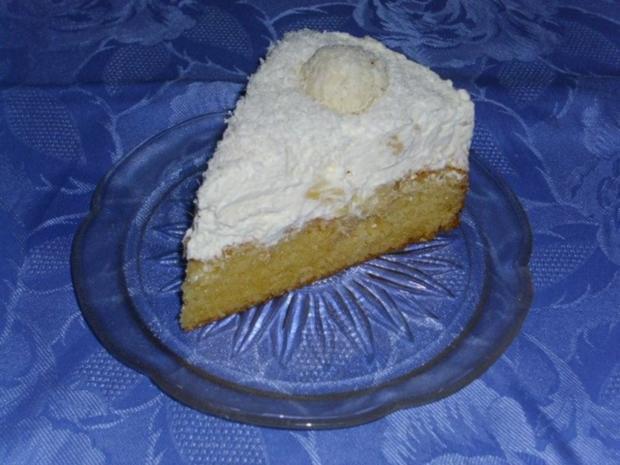 Kokos-Ananas Torte - Rezept - Bild Nr. 2