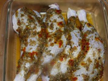 Marokkanisches Huhn - Rezept