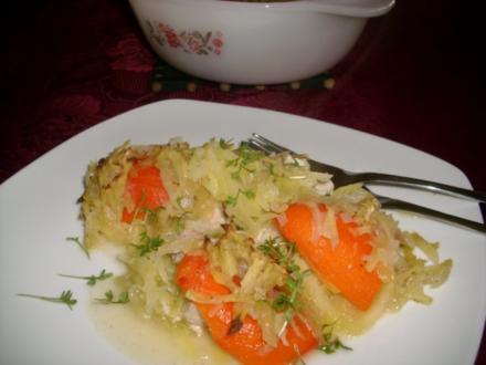 Kartoffel-Fisch-Gratin>> - Rezept