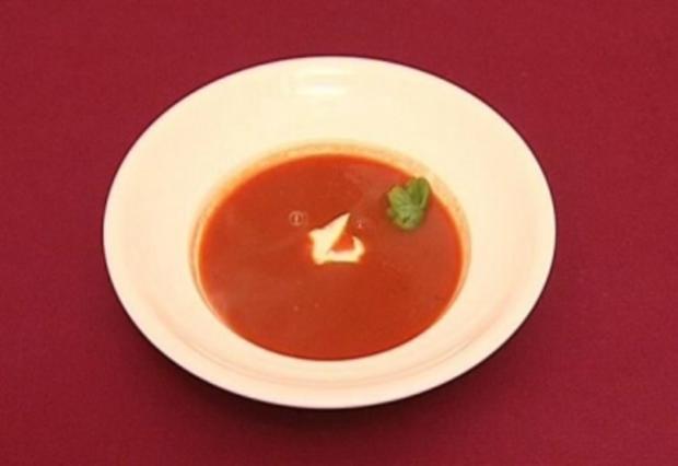 Tomatensuppe (Paradeisersupp -Michael Jäger) - Rezept - Bild Nr. 9