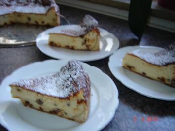Kuchen & Torten : Käsekuchen mit Grieß - Rezept