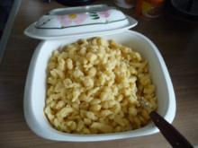 Pasta : Schnelle Dinkel - Spätzle / Knöpf´le - Rezept