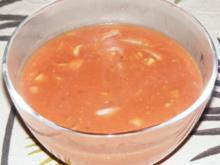 Tomaten-Lauch-Creme-Sauce - Rezept