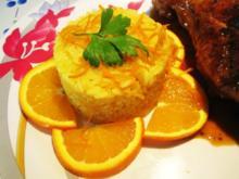 Orangen-Reis ist eine extra-feine Beilage ... - Rezept