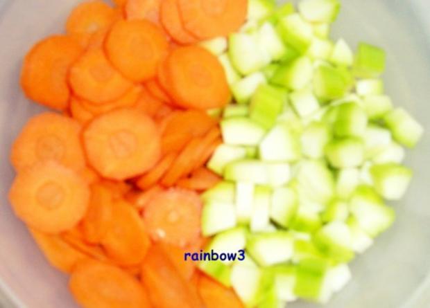 Kochen: Käsige Gemüsepfanne, überbacken - Rezept - Bild Nr. 3