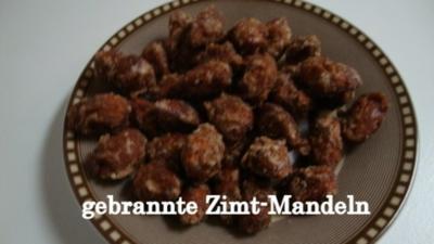 gebrannte Zimt-Mandeln - Rezept