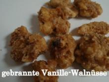gebrannte Vanille-Walnüsse - Rezept
