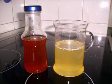 Zitronen-Ingwer Sirup - Rezept