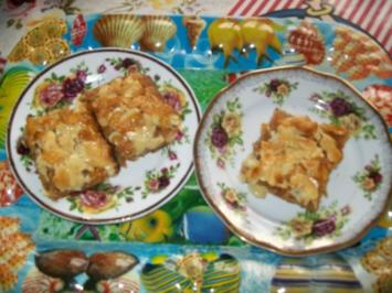 Rezept: Knuspriger Mandel- Cornflakes- Butterkuchen