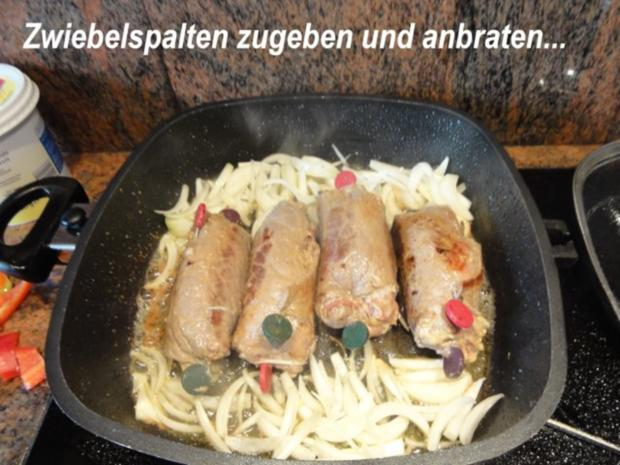 Fleisch:    RINDERROULADEN an Wildsauce - Rezept - Bild Nr. 6