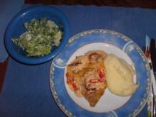 Zwiebel-Schnitzel-Gratin - Rezept