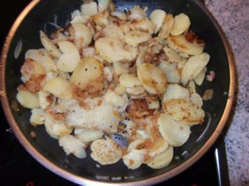 Griebkartoffeln Dieter´s Art - Rezept