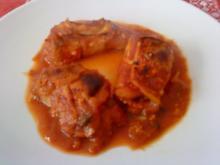 Zwergi's  Auberginen - Roellchen mit Reisfuellung - Rezept