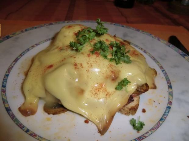 Champignon - Filet Toast - Rezept
