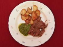 Bollito misto di manzo mit Rosmarinkartöffelchen (Oswalt Kolle) - Rezept