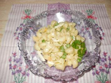 Nudelsalat in weiß - Rezept