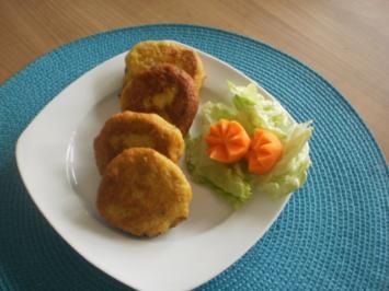Gemüse-Laibchen - Rezept