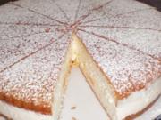 Käse-Sahne-Torte - Rezept