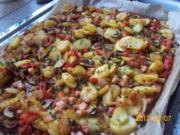 Ofen-Röstkartoffeln mit zitronigem Dip - Rezept