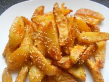 Country Potatoes Hot Chili, plus Sesam - Rezept