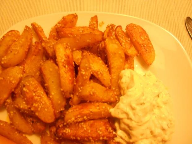 Country Potatoes Hot Chili, plus Sesam - Rezept - Bild Nr. 9