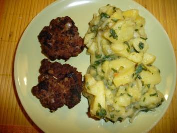 Kartoffelsalat ohne Majonäse - Rezept