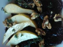 Rote-Bete-Salat mit Birnen - Rezept