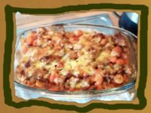 Auflauf : Möhre-Kartoffel Hackfleisch - Rezept