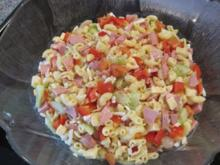 Salat: Wurst-Nudelsalat - Rezept