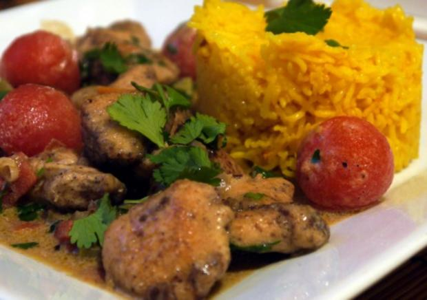 Baharat-Hähnchen-Pfanne - Rezept