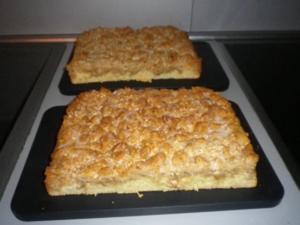 Streuselkuchen mit Mandeln - Rezept