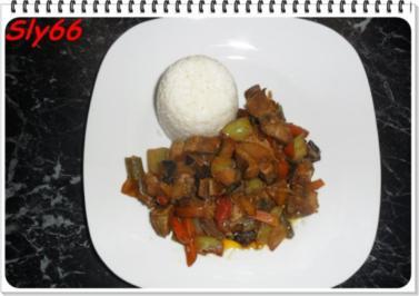 Fleischgerichte:Schopfbraten mit Wokgemüse - Rezept